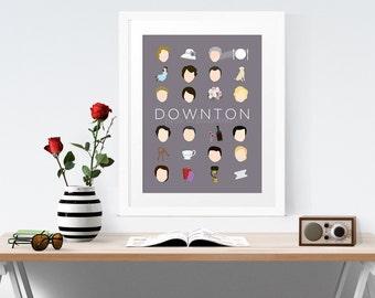 Minimalist Downton Abbey Poster