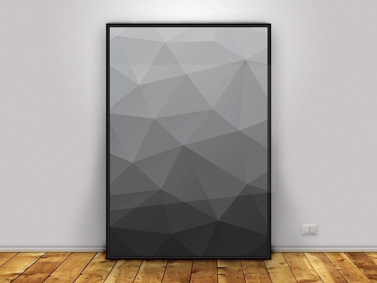 Geometric art print printable modern art minimalist art for Modern minimalist wall art