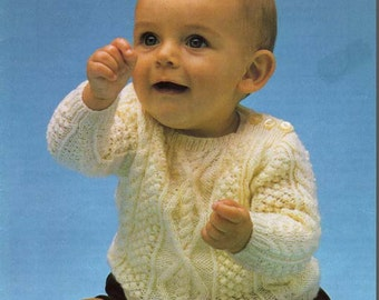 Patons Baby Astra Knitting Pattern Book from TheHowlingHag