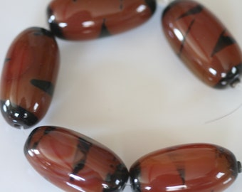 Large Carnelian Beads