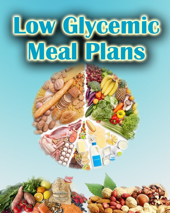 Items Similar To 30 Day Low Glycemic Diet Meal Plans On Etsy
