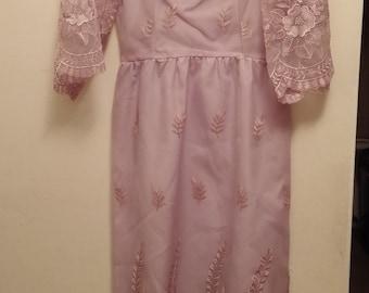 Vintage Lilac Dress PS.