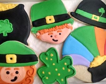 St. Patrick's Cookies-St Patrick's Day Sugar Cookies