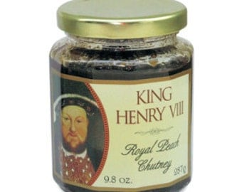 King Henry the Eighth Royal Peach Chutney
