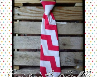 Chevron Neck Ties (Red)