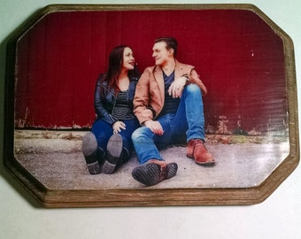Custom Wood Transfer Photo. Perfect for a Gift!!