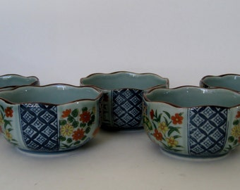 Chinese Porcelain Bowls, Set of 5