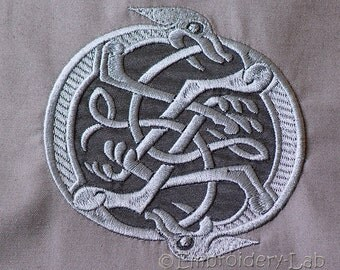 Celtic Motif 0001 - digital design for embroidery machine