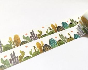 Cactus washi tape (T00100)