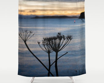Nautical Shower Curtain, Ocean Shower Curtain, Nature Shower Curtain, Cloth Shower Curtain, Photo Shower Curtain, Sea Shower Curtain