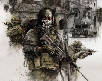Call of Duty 11x17 Print