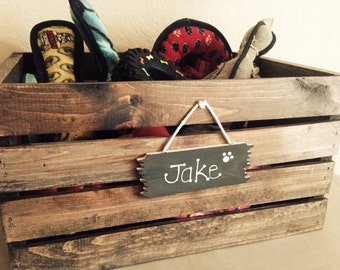 Pet Toy Box - Personalized