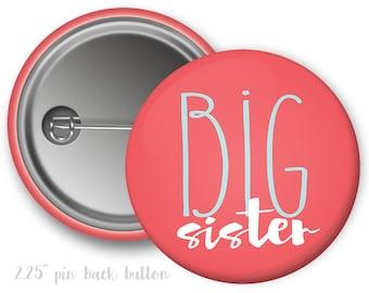 Big Sister Button Sorority Button