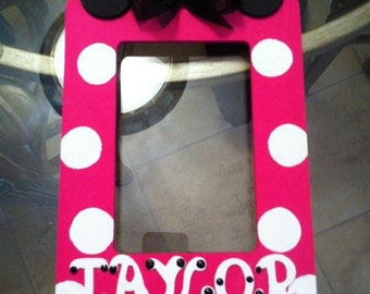 Minnie Mouse inspired picture frame