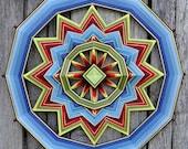 """Mandala Ojo de Dios """"Vishnu"""""""