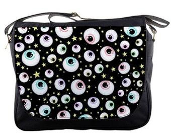 Eye Spy Messenger Bag