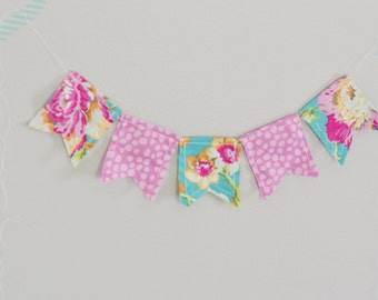 Fabric Pennant Banner-Large