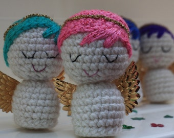 Angel - guardian angel - protection - crochet amigurumi - lovely present