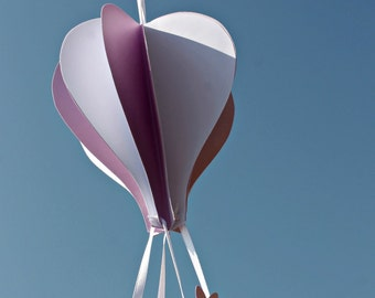 Paper Hot air Balloon with basket