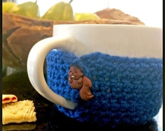 Cup and cover knitting