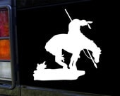 End of The Trail Vinyl Decal Sticker