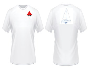 Catalina 310 Sailboat T-Shirt