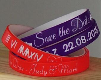 5 Customized silicone wristbands. Personalised silicone bracelets. Friendship bracelets. Your attitude on silicone wristband.