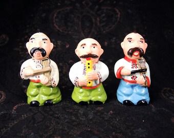 Small figures - Ukrainian musicians - Souvenirs