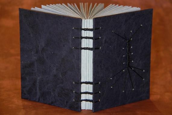 Handbound Journal with Caterpillar Stitch