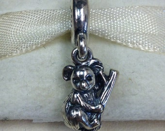 Authentic Pandora Silver Koala Charm #791085