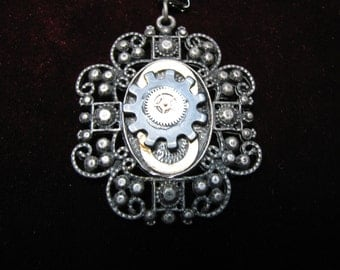 Necklace: Sprocket Pendant