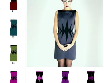 modern and comfortable jersey dress