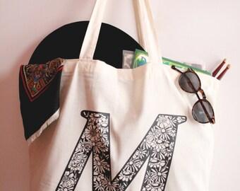 Cotton Maxi Tote Bag