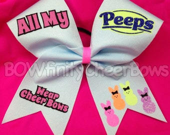 All My Peeps Wear Cheer Bows