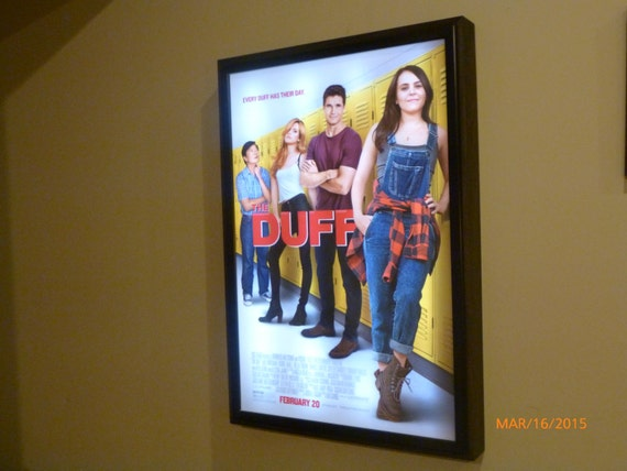 Movie Poster Led Light Box Display Frame Cinema Light Up
