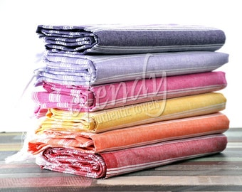 SALE 35% | Giant Beach Towel Set of 6 Large Wrap Towel Afghan Blanket Housewarming Gift Linen Towel Bath Towel Peshtemal Soft Baby Towel