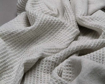 Hand woven Throw made from Alpaca and Merino Wool