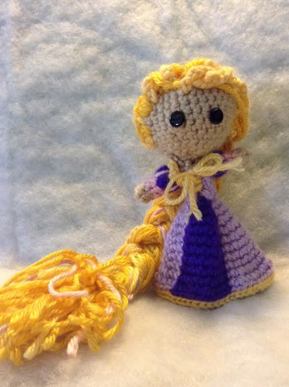 Amigurumi Star Wars Patrones Gratis : Rapunzel crochet amigurumi dolls by katieskrafts2015 on Etsy