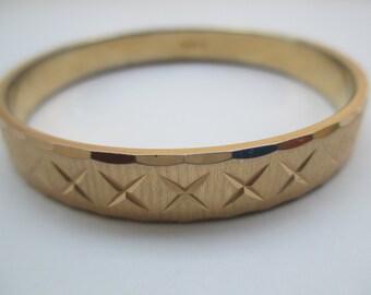 Monet Gold Bracelet, Gift for Her, OOAK, wedding