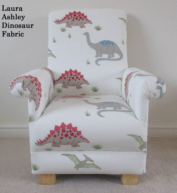 Laura Ashley Dinosaur Fabric Child S Chair Nursery Bedroom