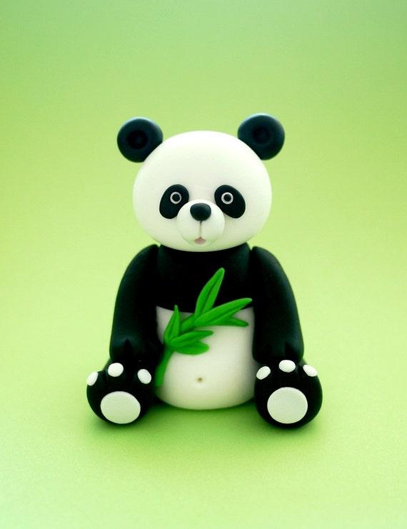 Panda Bear Cake Topper
