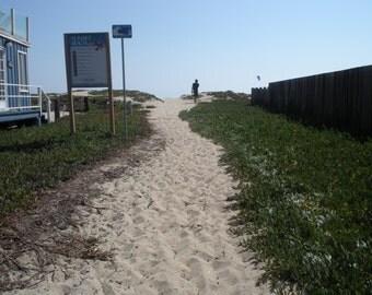 Path to Beach, Sunset Beach California, beach access