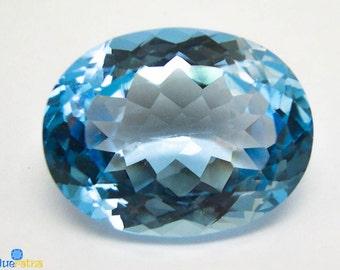 Oval Shape Sky Blue Topaz