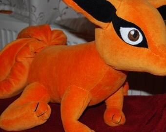 Kyuubi, the Nine-Tailed Demon Fox plush