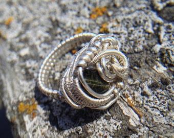 Tigers Eye Ring