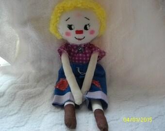 CJ handmade cloth doll