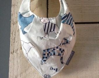 Handmade Baby Bandana Dribble Bib