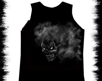 fog skull tank top