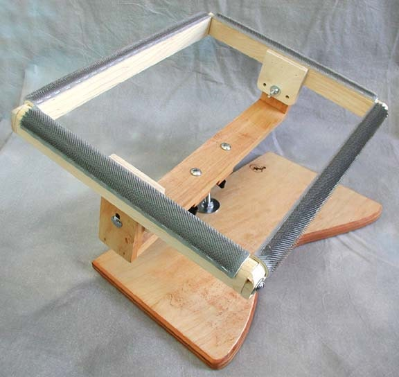 Rug Hooking Lap Stand With 11 X 14 Hooking Area Swivel Top