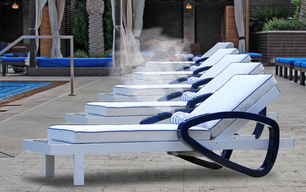 100 solar powered misting lounge chairs w by solarmistingchairs